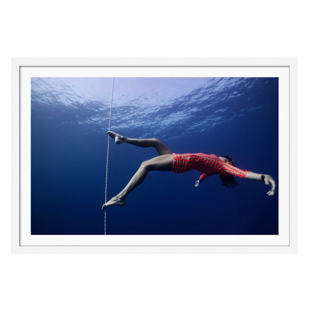 Tiptoe Paradise - Framed Underwater Photography