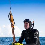 black freediving wetsuit by oceaner