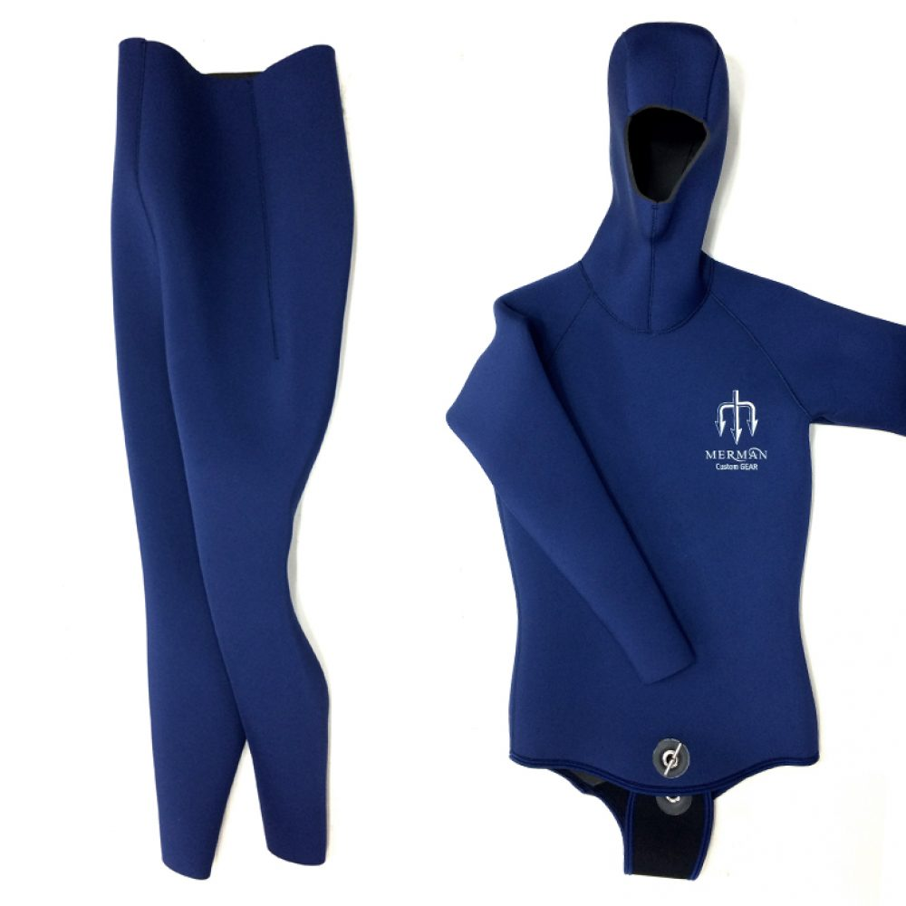 navy freediving wetsuit